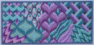 """Bargello Muse"" pattern"