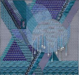 """Frozen Reflections"" pattern"