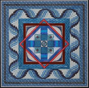 """""""Indigo Dreams"""" pattern"""