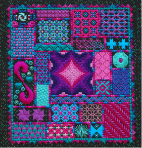"""Mardi Gras"" pattern"